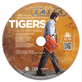 Tigers and other DVDs