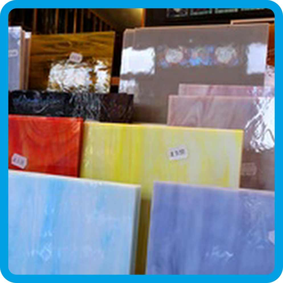 Stained Glass Supplies Shop Craft Antique Stockist Restoration Coloured